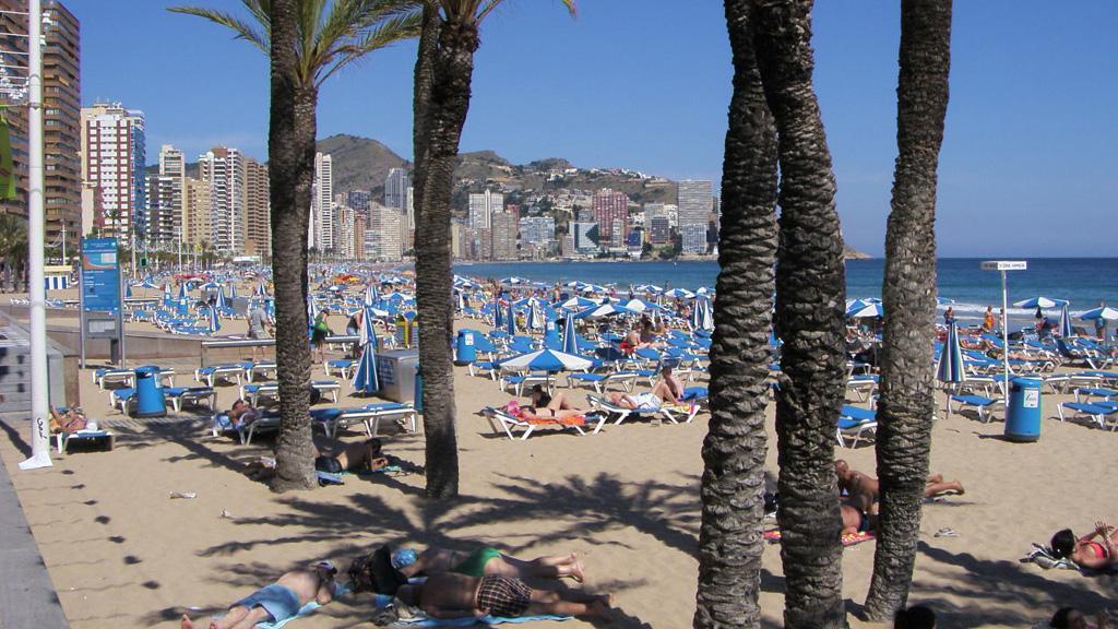 Пляж Бенидорм в Испании, фото 6