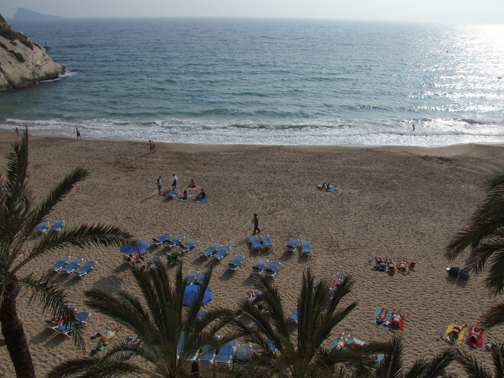 Пляж Бенидорм в Испании, фото 7