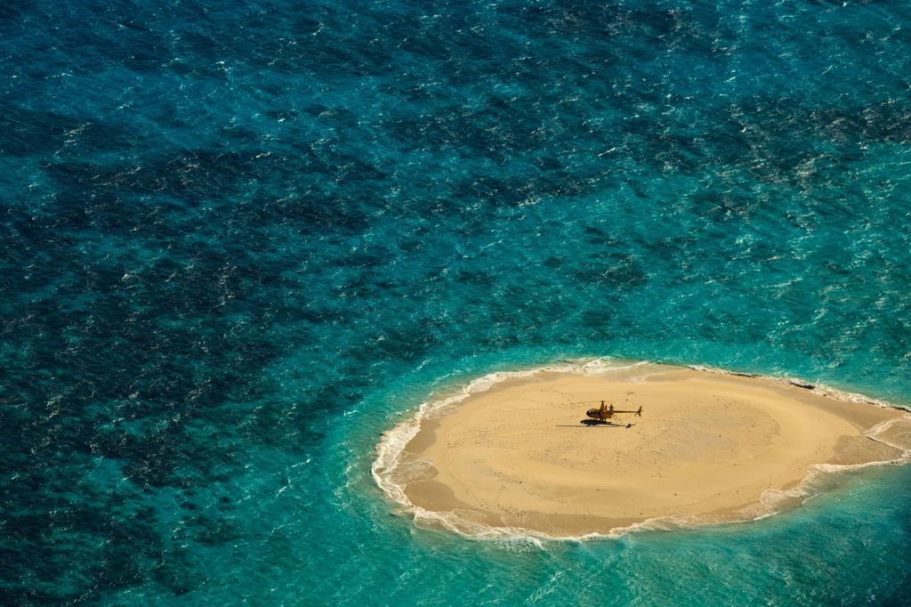 Пляж Большой Барьерный Риф в Австралии, фото 1