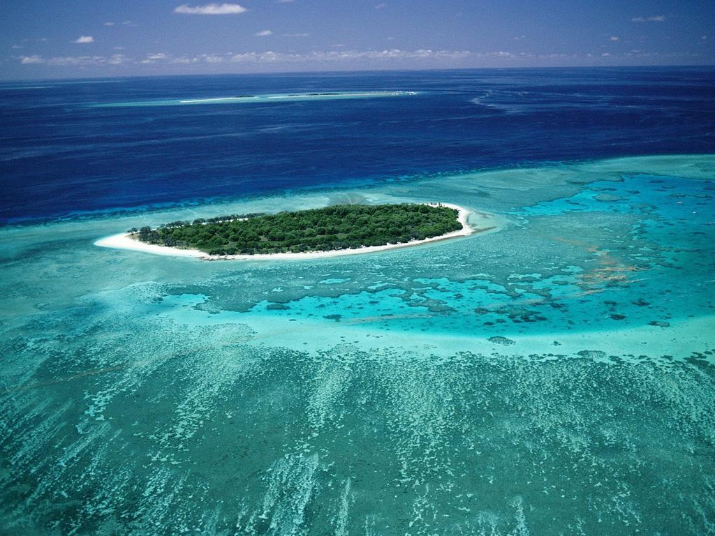 Пляж Большой Барьерный Риф в Австралии, фото 3