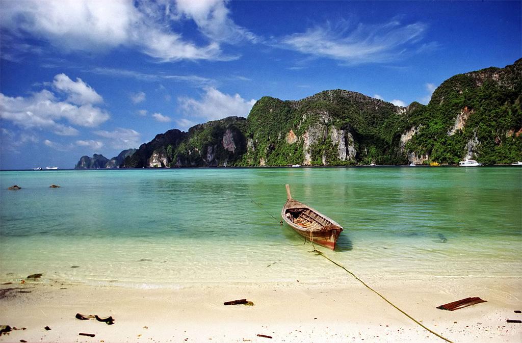 Пляж бухты Тон Сай в Таиланде, фото 1