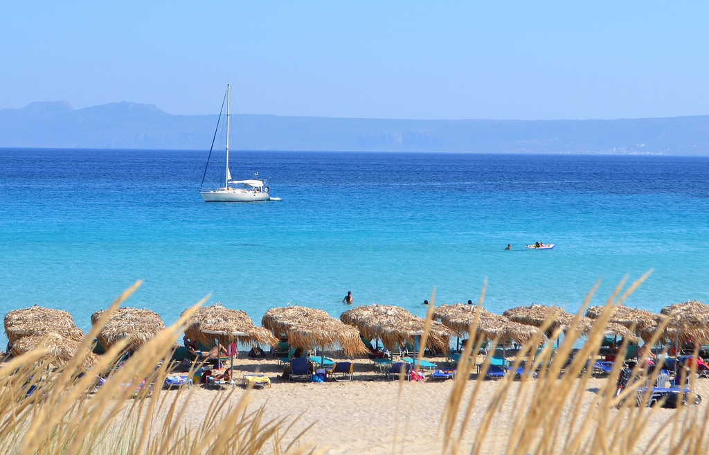 Пляж Элафониси в Греции, фото 3