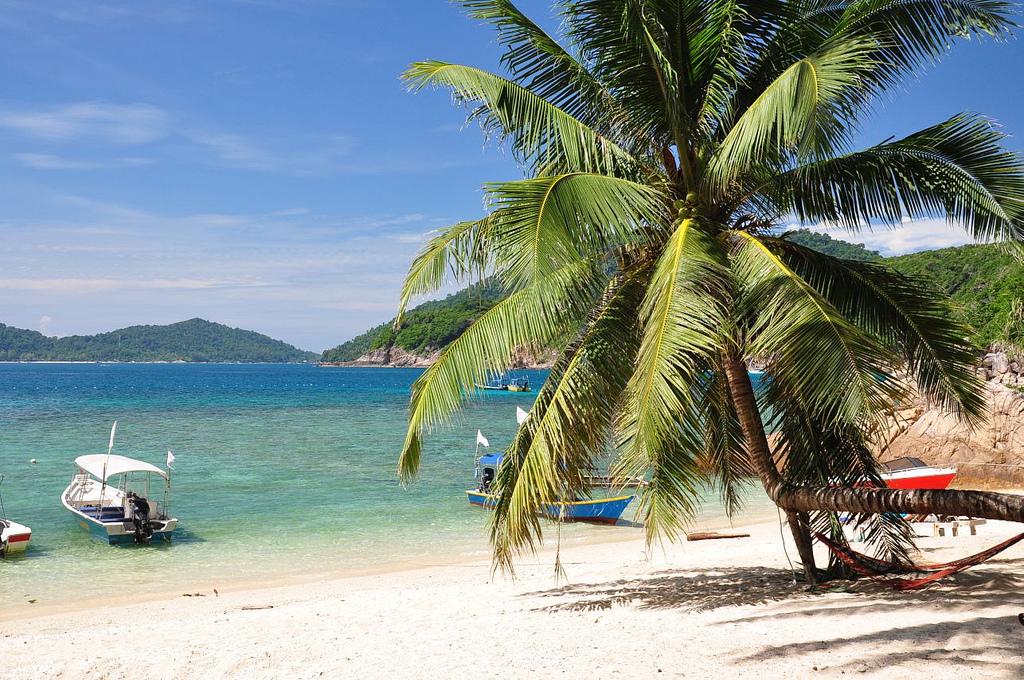 Пляж Голубая Лагуна в Малайзии, фото 1