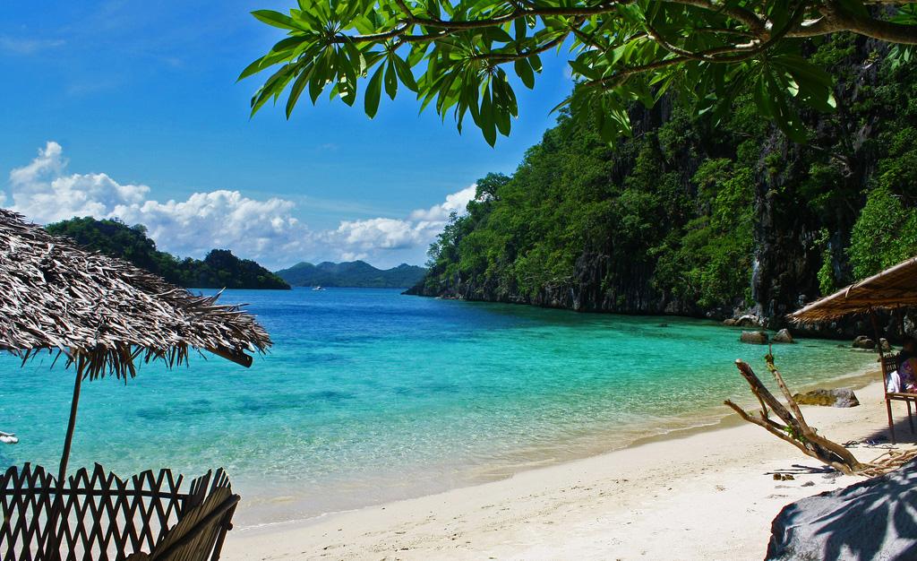 Пляж Голубая Лагуна в Малайзии, фото 2