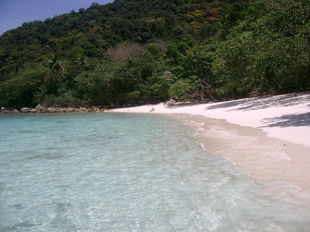 Пляж Голубая Лагуна в Малайзии, фото 3