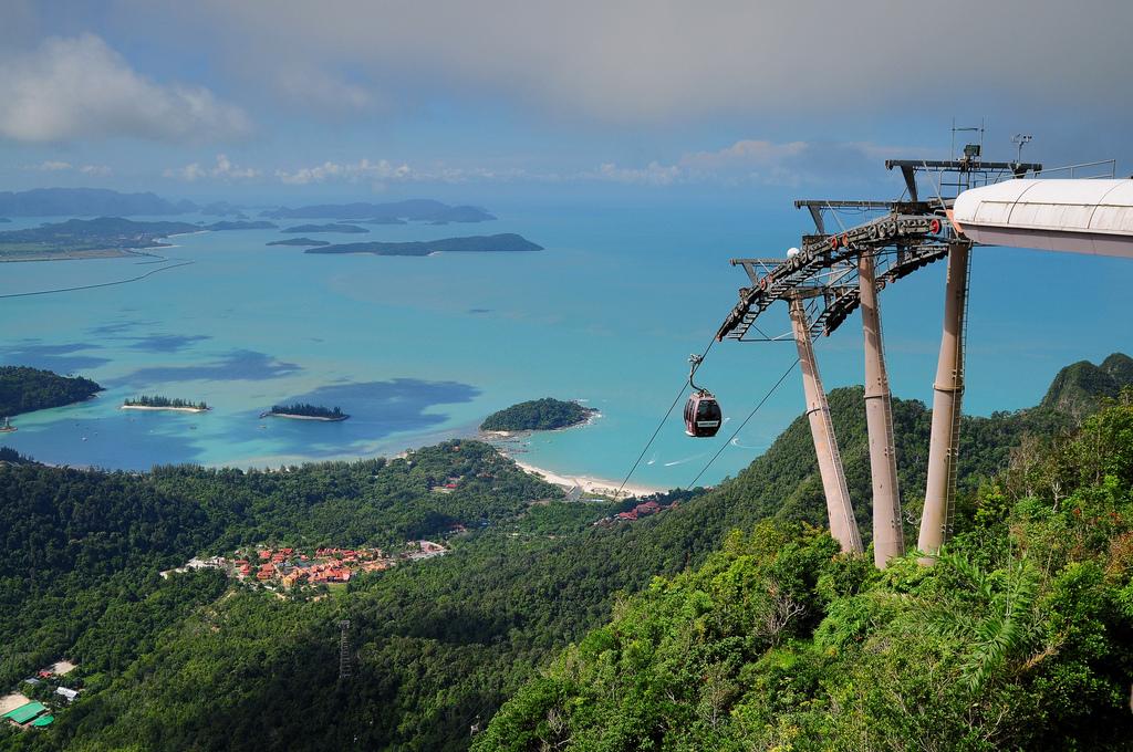 Пляж Голубая Лагуна в Малайзии, фото 4