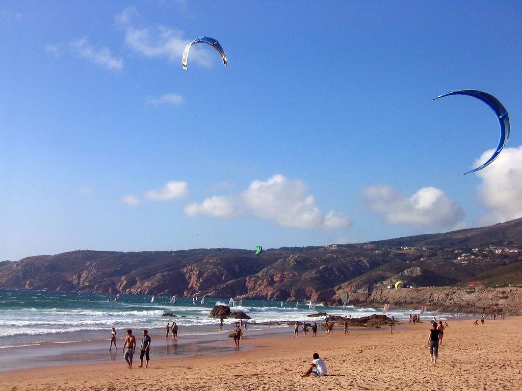 Пляж Гуинчо в Португалии, фото 1