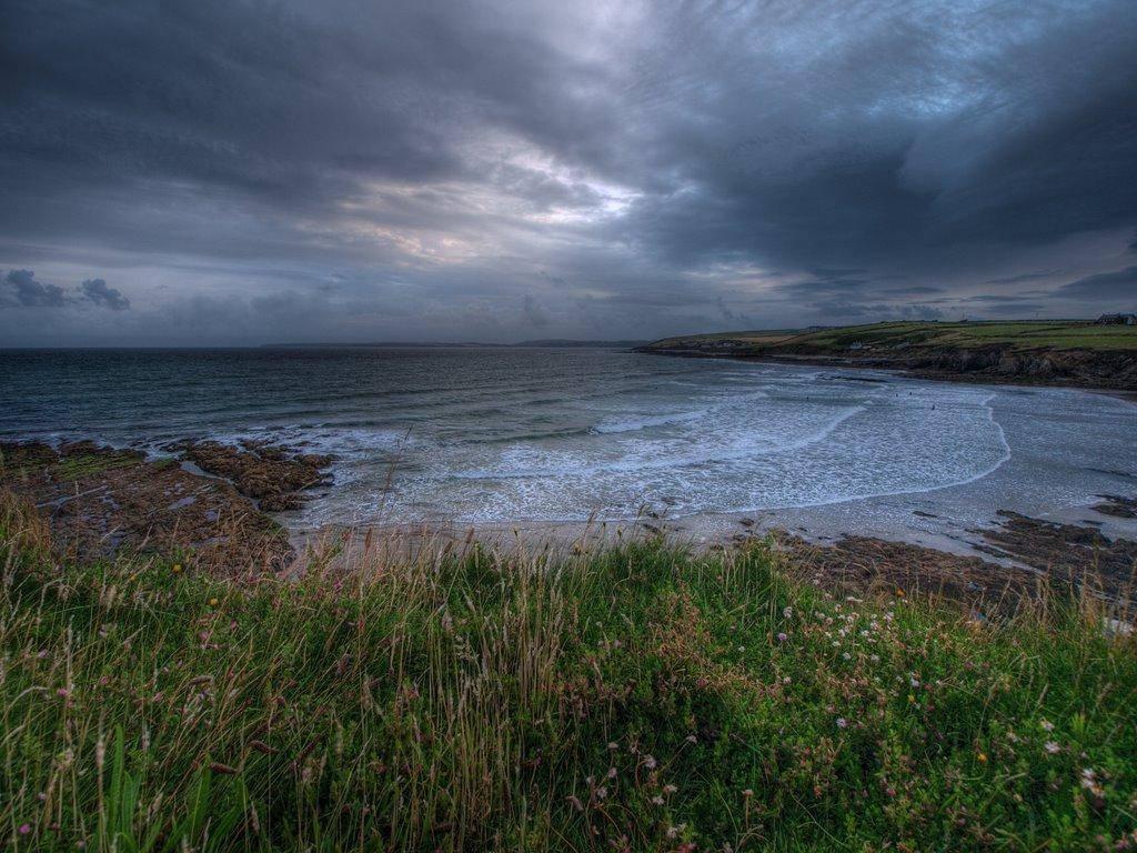 Пляж Инч в Великобритании, фото 1
