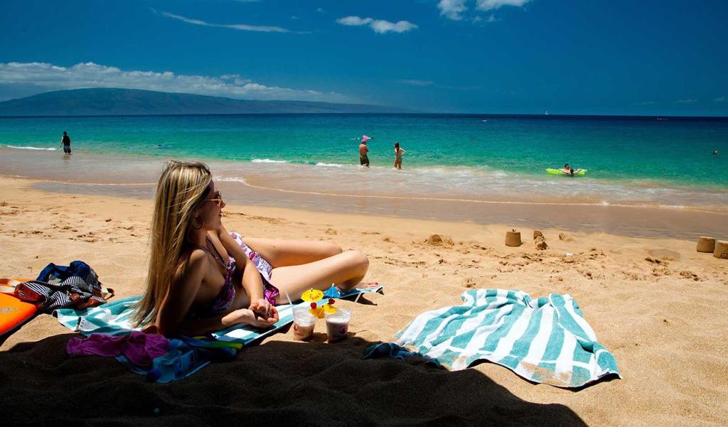 Пляж Канапали в США, фото 1