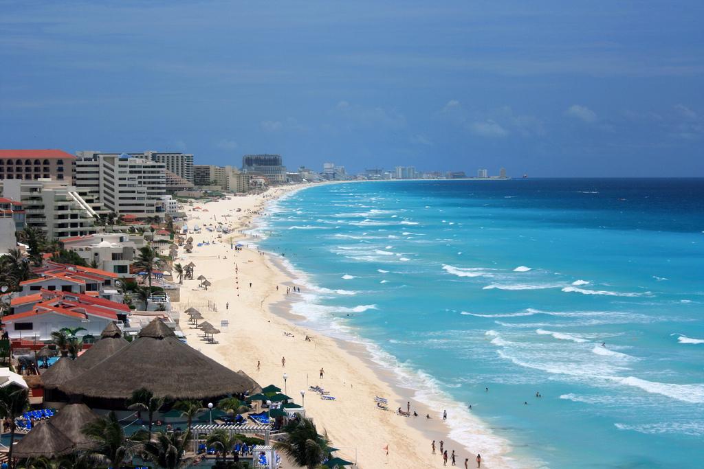 Пляж Канкун в Мексике, фото 2