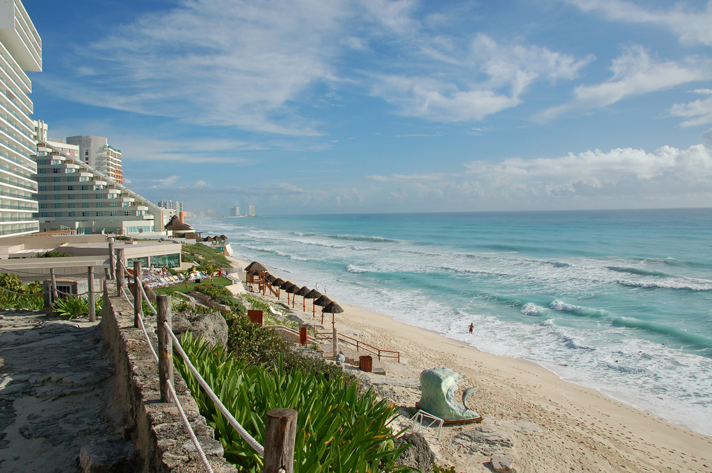 Пляж Канкун в Мексике, фото 3