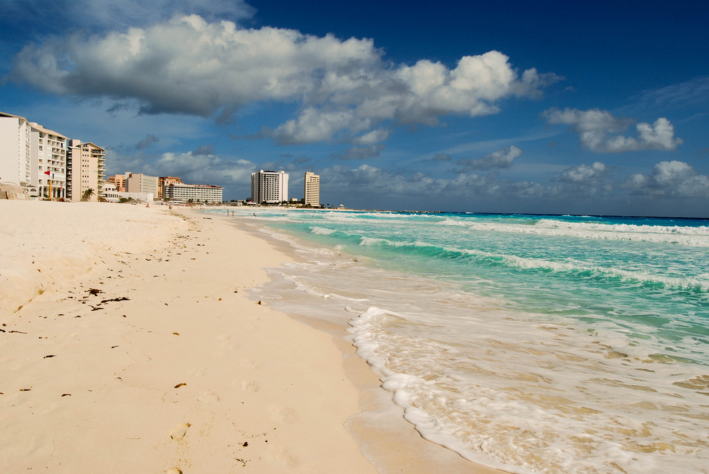 Пляж Канкун в Мексике, фото 5
