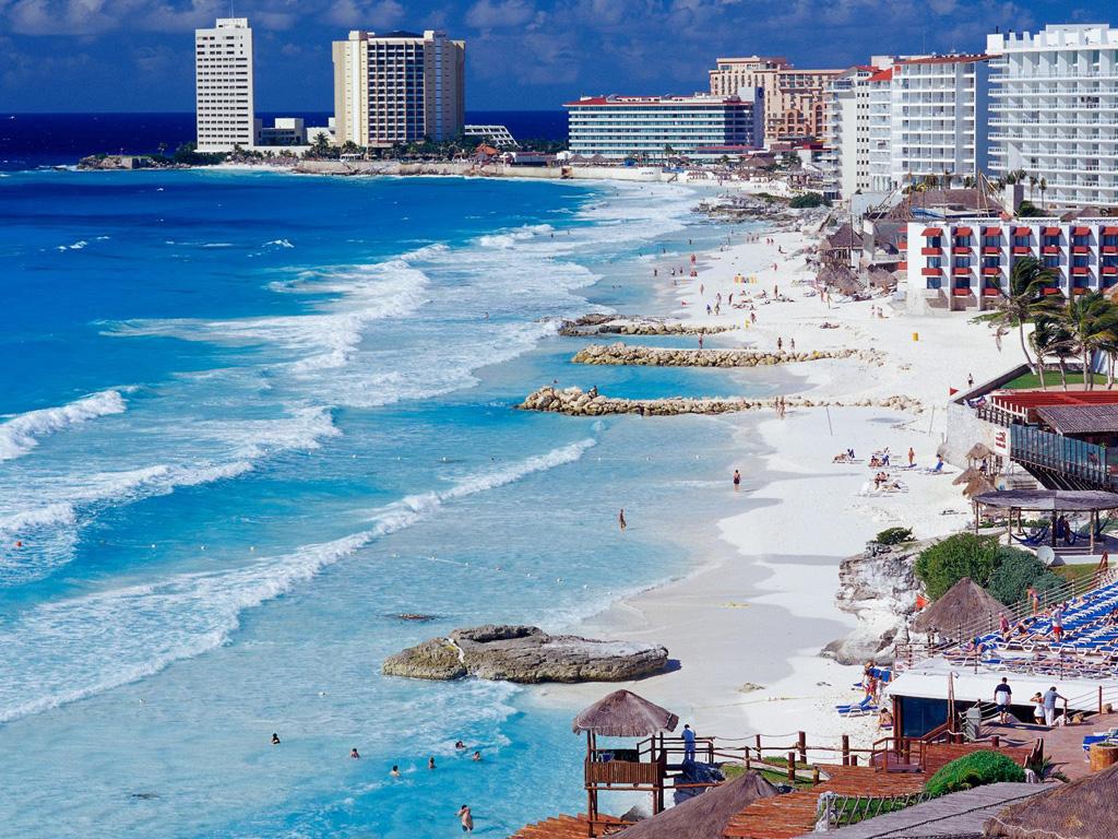 Пляж Канкун в Мексике, фото 9