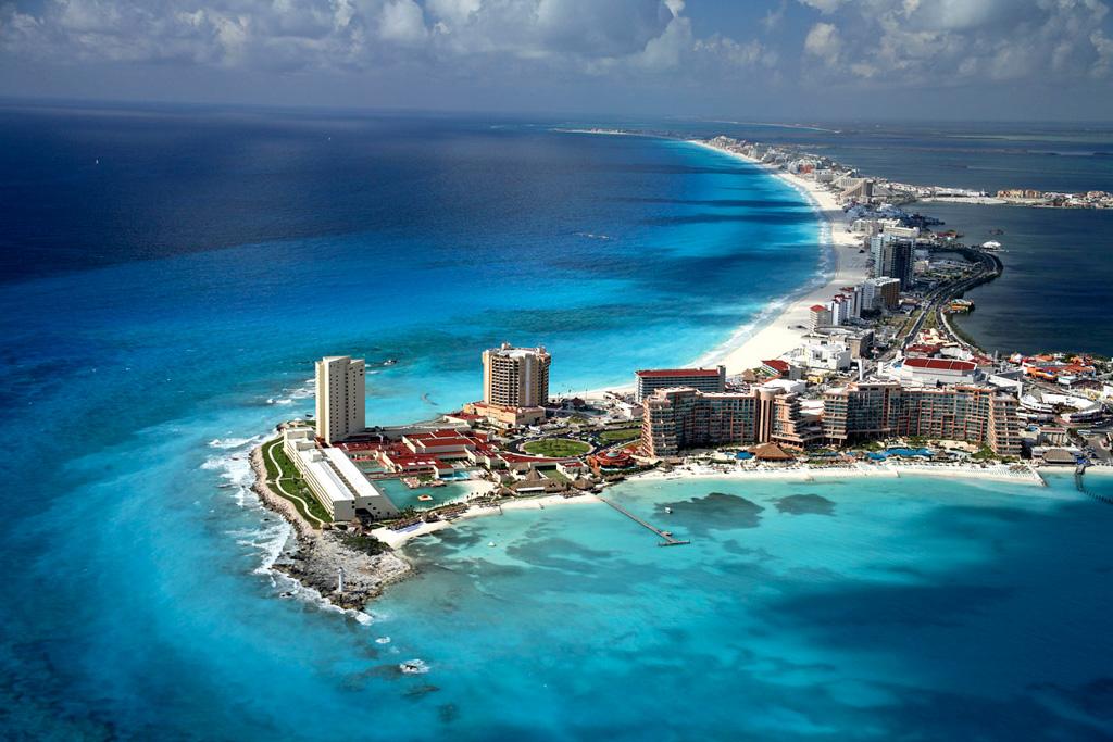 Пляж Канкун в Мексике, фото 11