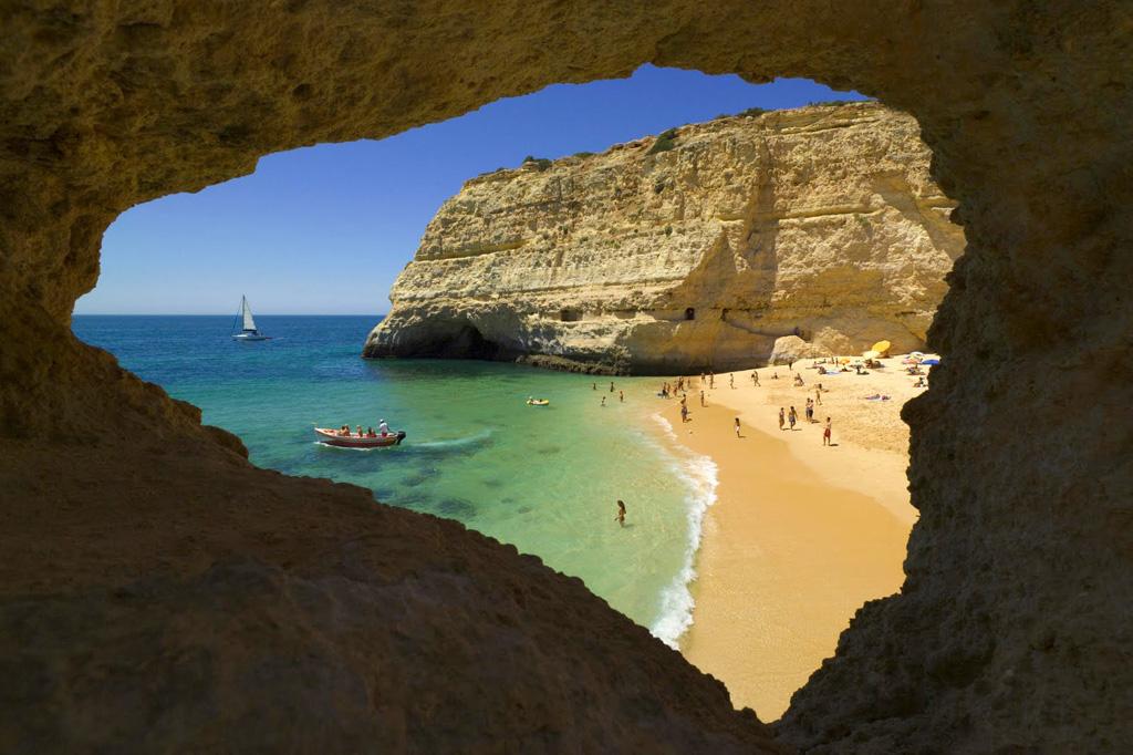 Пляж Карвальо в Португалии, фото 1