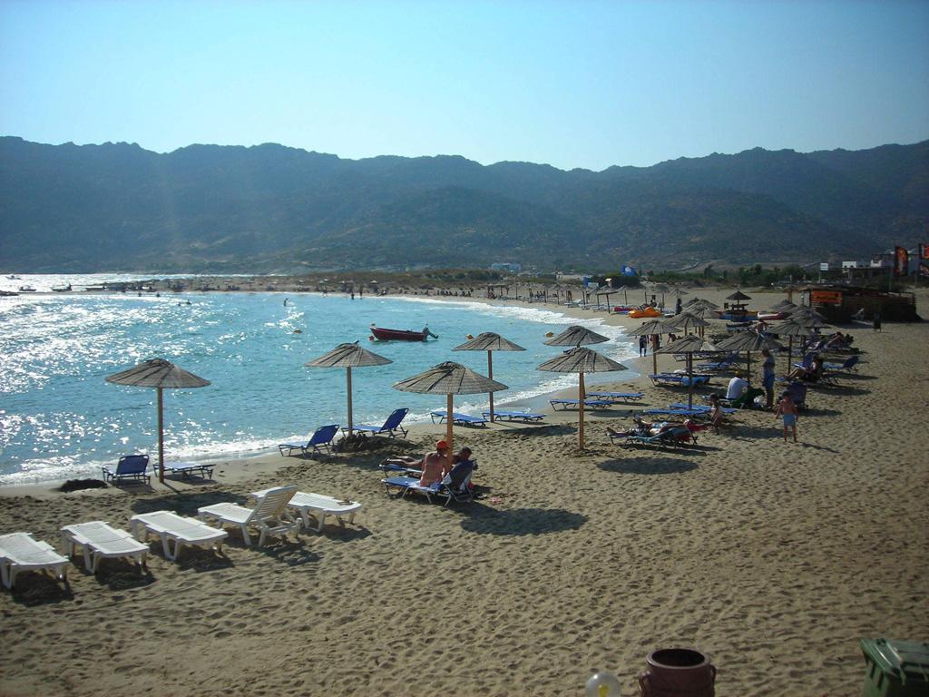 Пляж Манганари в Греции, фото 3