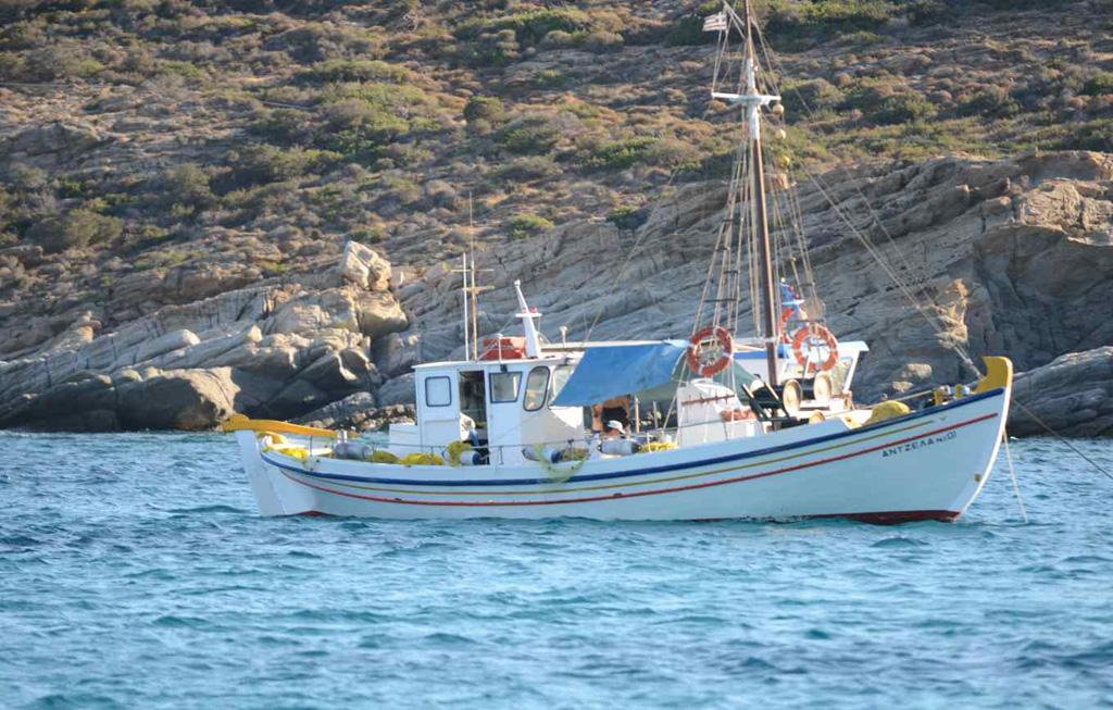 Пляж Манганари в Греции, фото 4
