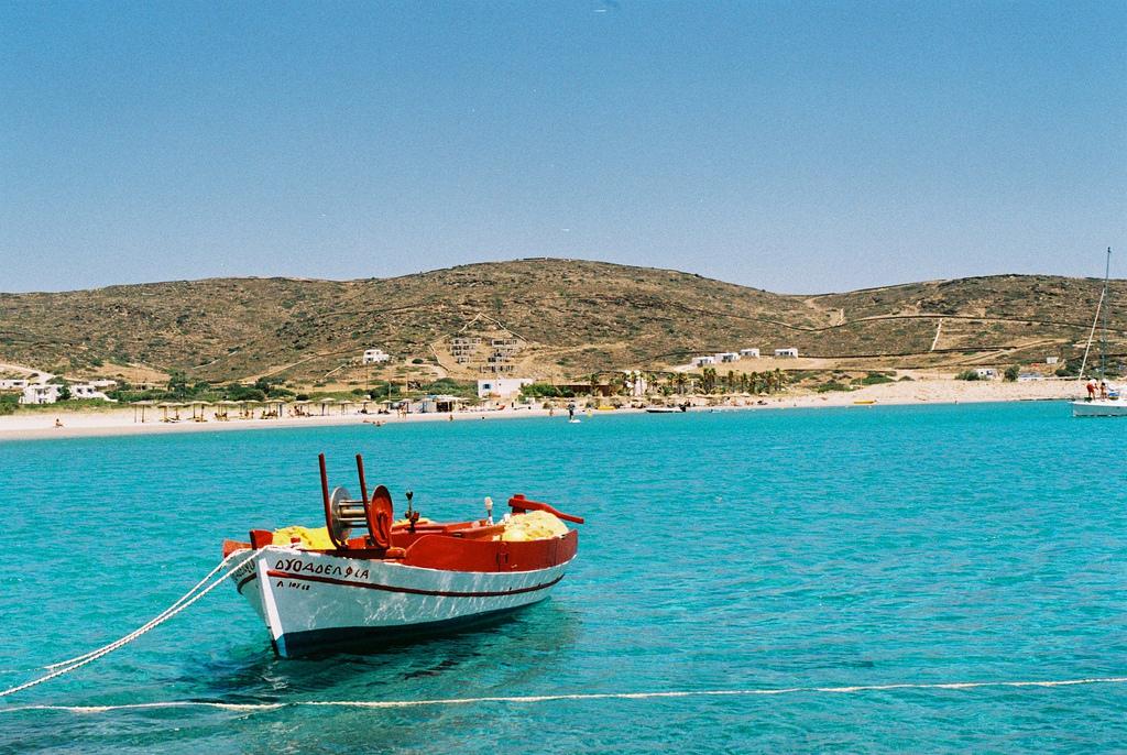 Пляж Манганари в Греции, фото 5