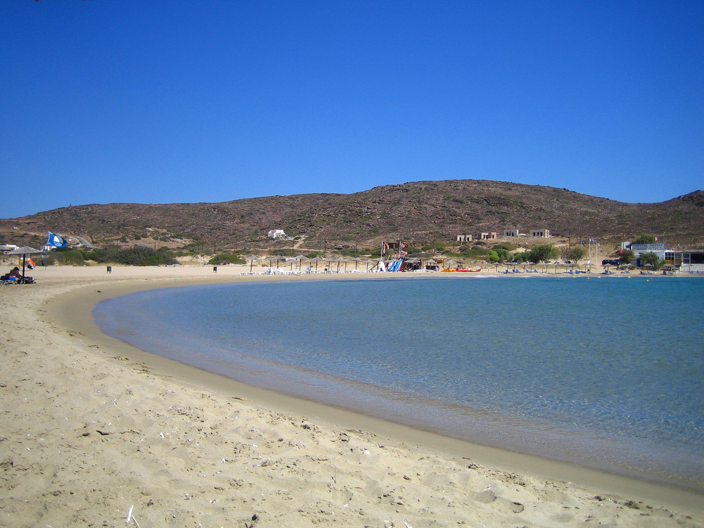 Пляж Манганари в Греции, фото 8