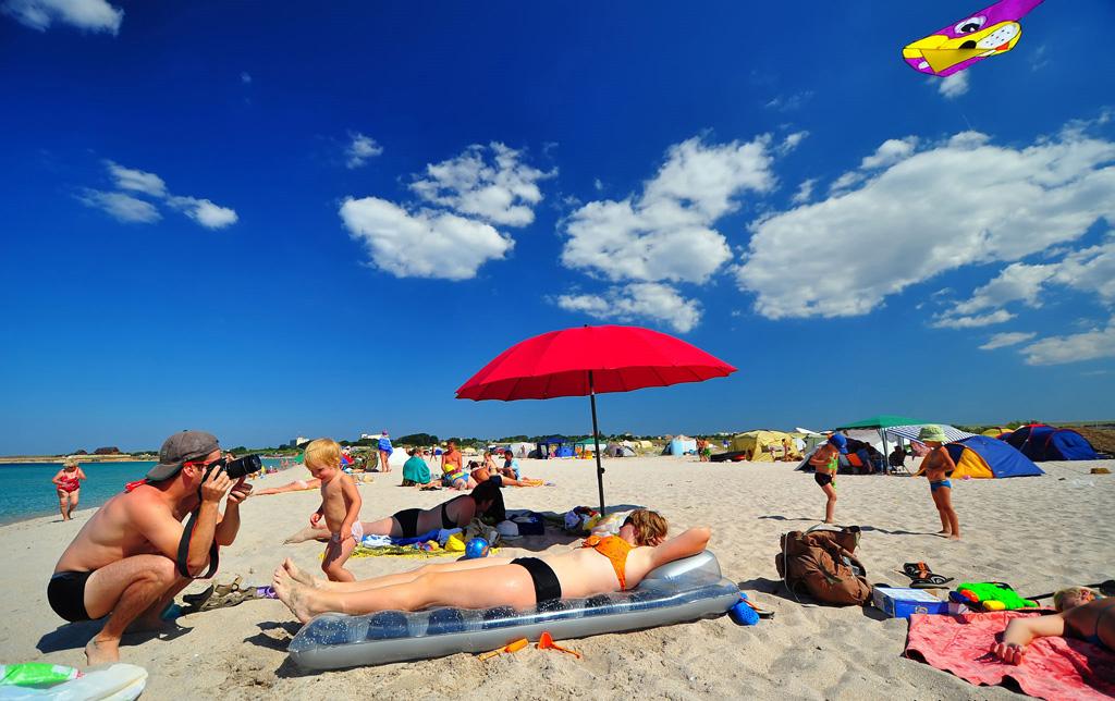 Пляж Оленёвка в Украине, фото 3