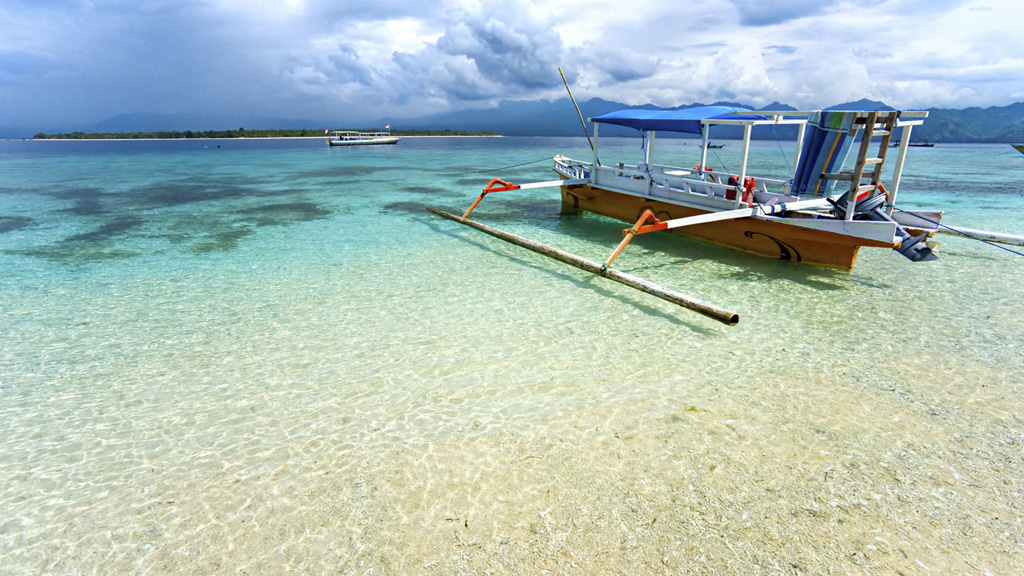 Пляж острова Ломбок в Индонезии, фото 1