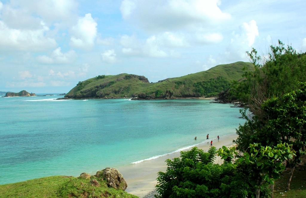 Пляж острова Ломбок в Индонезии, фото 5