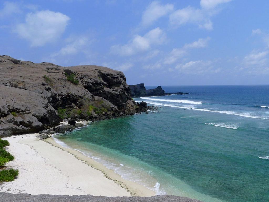 Пляж острова Ломбок в Индонезии, фото 9