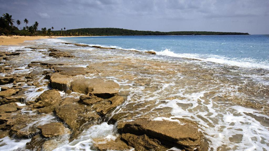 Пляж острова Вьекес в Пуэрто-Рико, фото 7