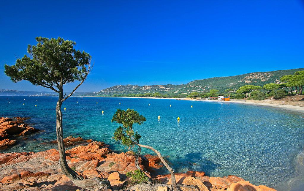 Пляж Паломбаджа во Франции, фото 8