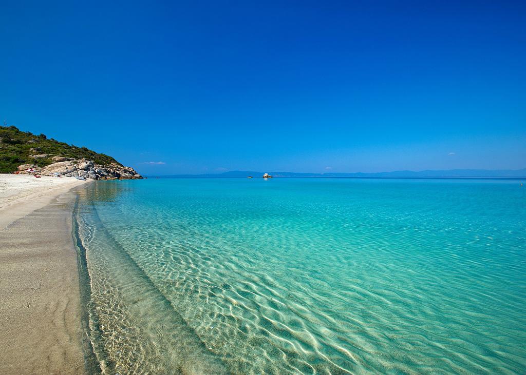 Пляж Парадайз в Греции, фото 1