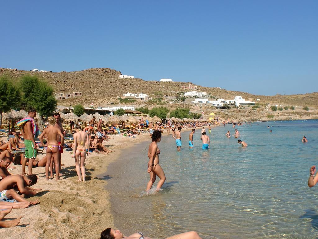 Пляж Парадайз в Греции, фото 7
