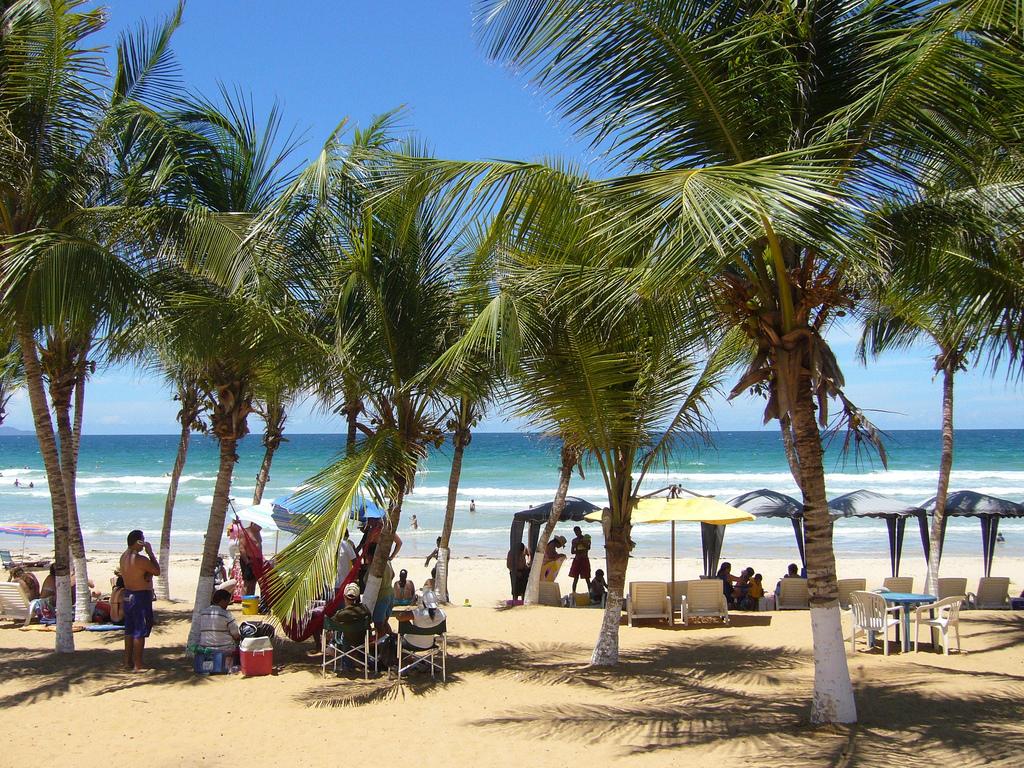 Пляж Плайя Гуакуко в Венесуэле, фото 1