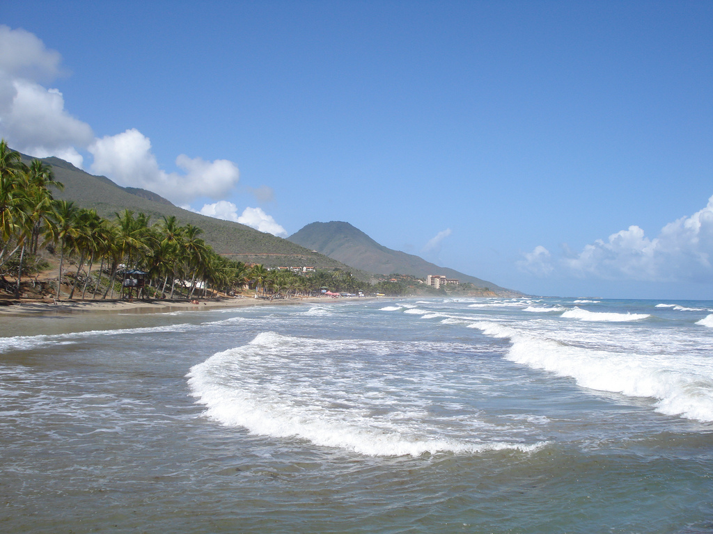 Пляж Плайя Гуакуко в Венесуэле, фото 3