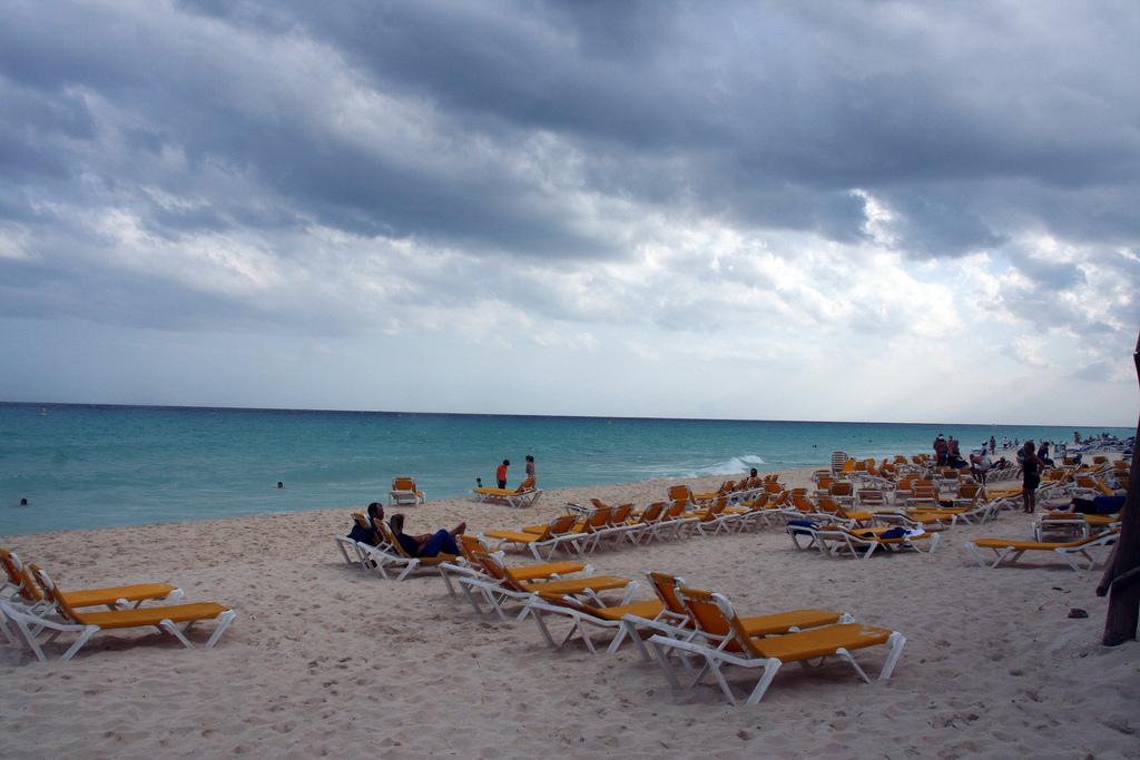 Пляж Плая-дель-Кармен в Мексике, фото 2