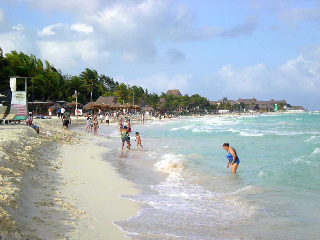 Пляж Плая-дель-Кармен в Мексике, фото 5