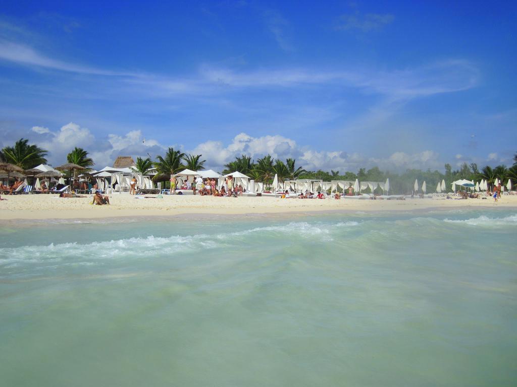 Пляж Плая-дель-Кармен в Мексике, фото 8