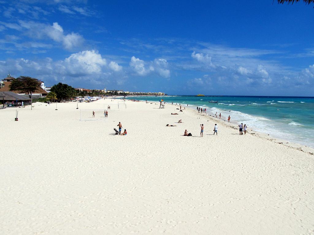 Пляж Плая-дель-Кармен в Мексике, фото 9