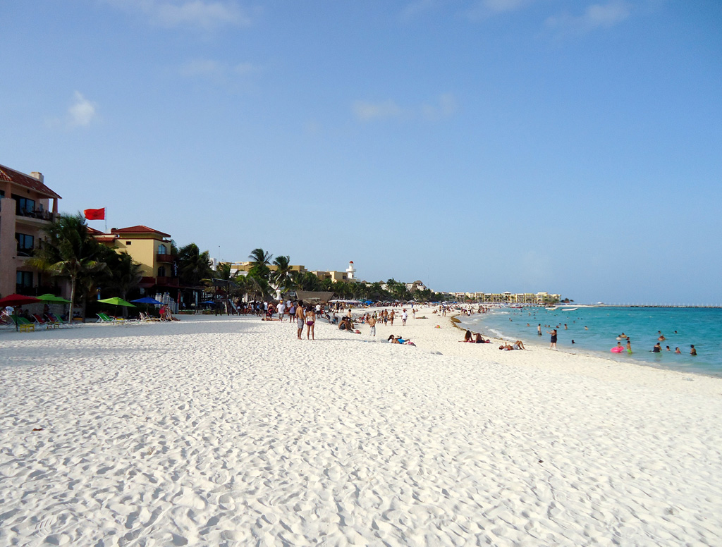 Пляж Плая-дель-Кармен в Мексике, фото 10