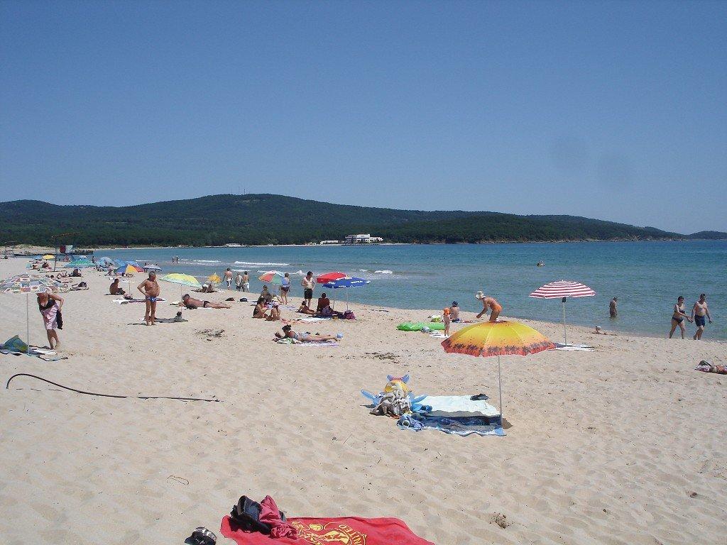 Пляж Приморско в Болгарии, фото 1