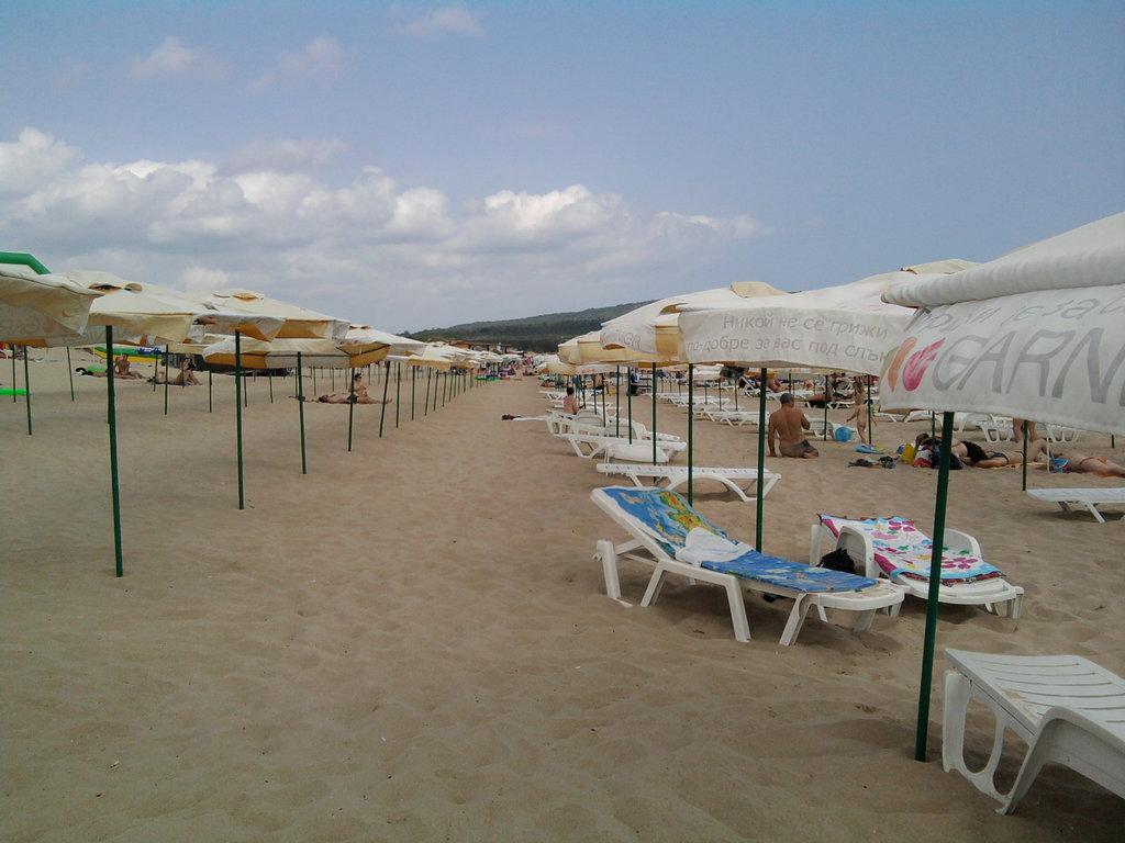Пляж Приморско в Болгарии, фото 4