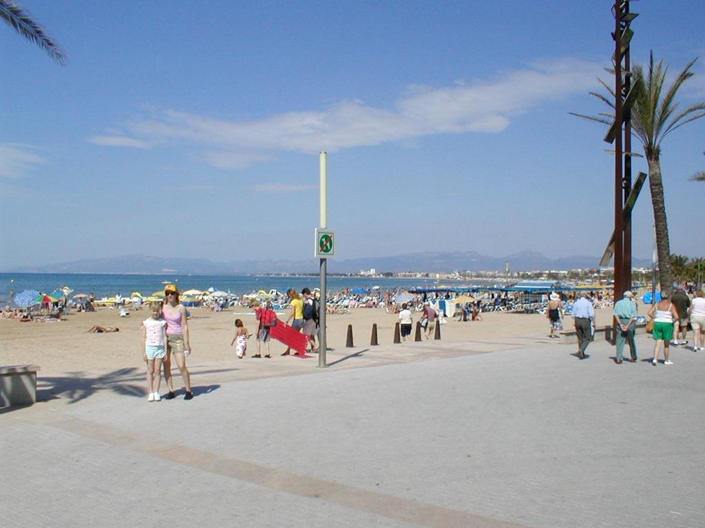 Пляж Салоу в Испании, фото 8