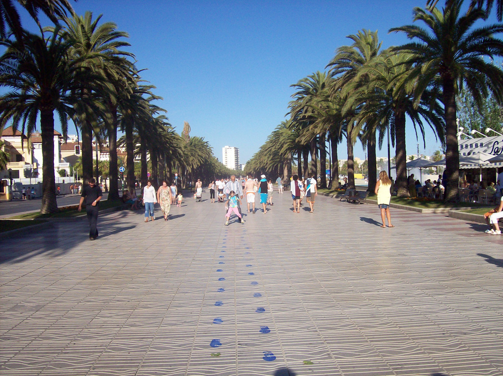 Пляж Салоу в Испании, фото 12