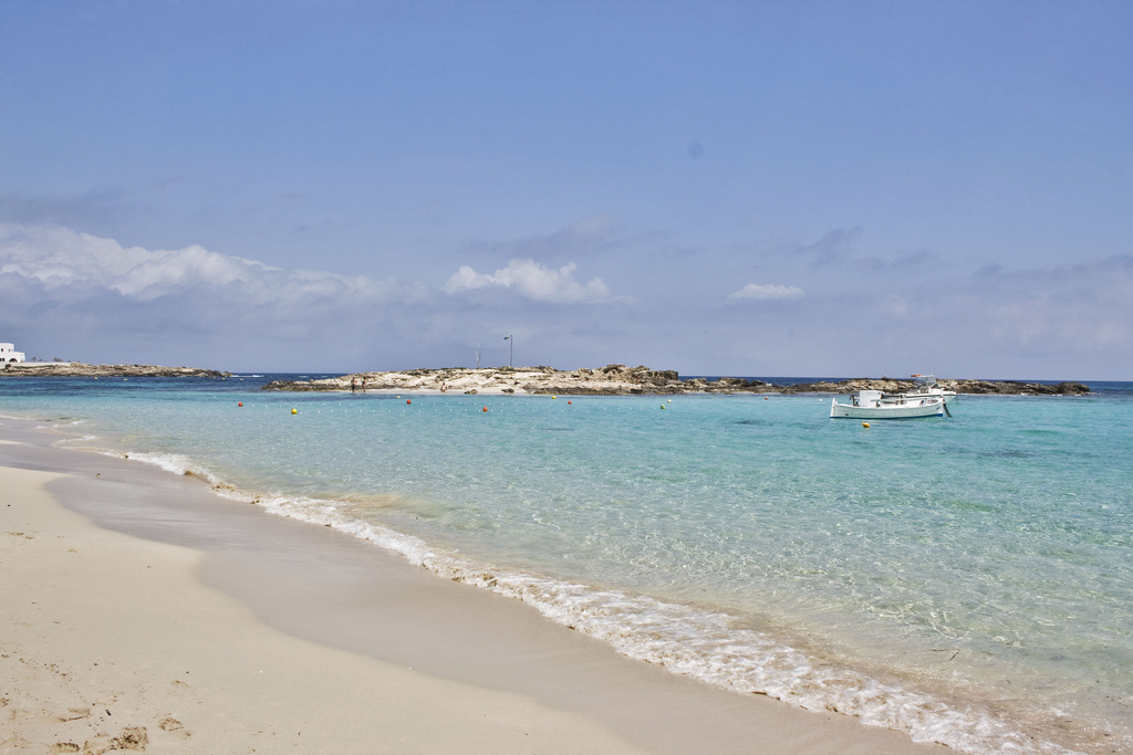 Пляж Сес Ильетас в Испании, фото 3