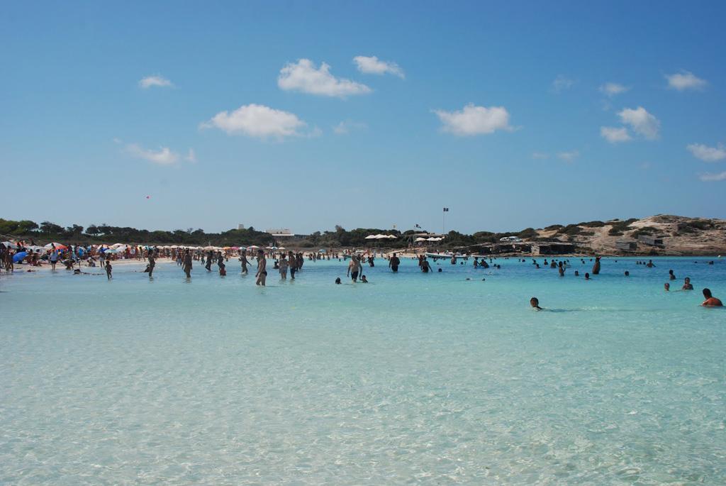 Пляж Сес Ильетас в Испании, фото 7