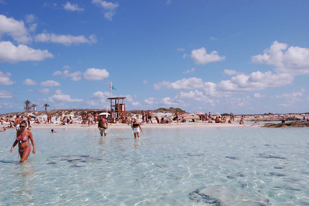 Пляж Сес Ильетас в Испании, фото 9