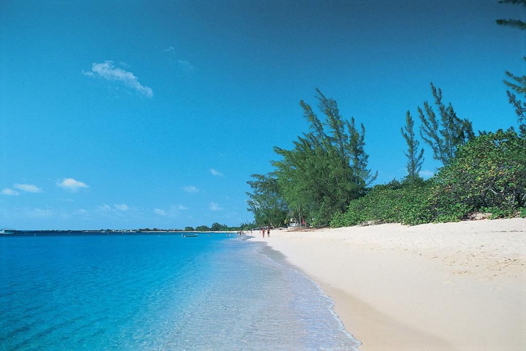 Пляж Севен Майл на Каймановых островах, фото 2