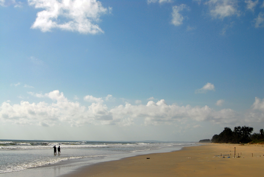Пляж Варка в Индии, фото 1