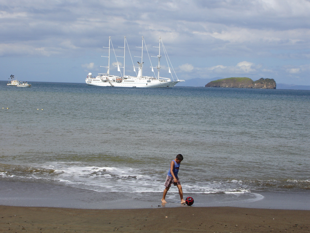 Пляж залива Папагайо в Коста-Рике, фото 4