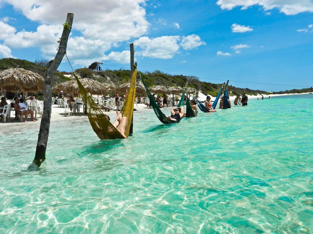 Пляж Жерикоакоара в Бразилии, фото 1