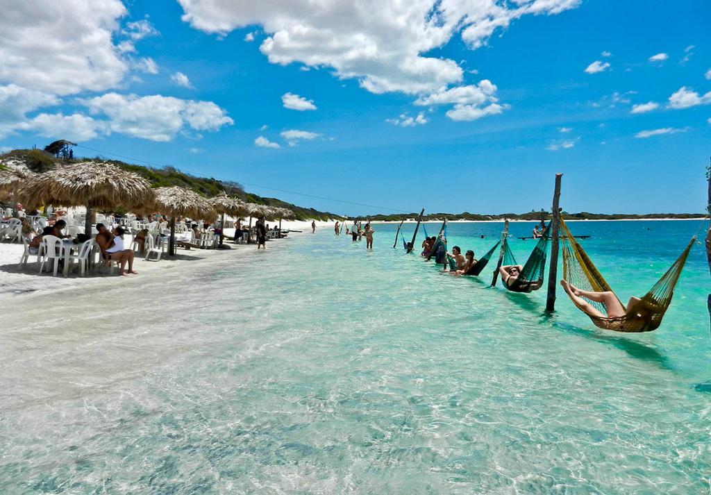Пляж Жерикоакоара в Бразилии, фото 2